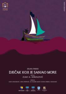 Plakat Dječak koji je sanjao more